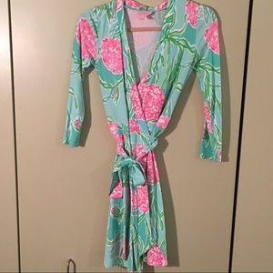 Lilly Pulitzer wrap dress